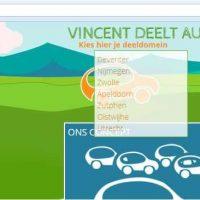 Waar is Vincent deelt actief? Welke steden, dorpen, organisaties?