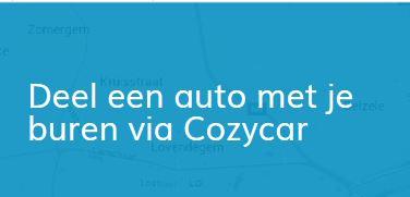 Deelnemer worden: de auto van een ander delen, Cozycar